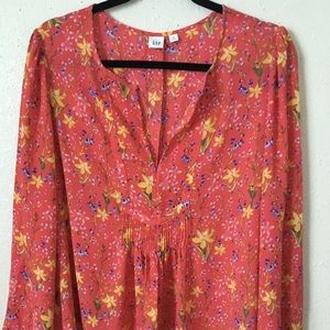 *Brand New* GAP Floral Blouse